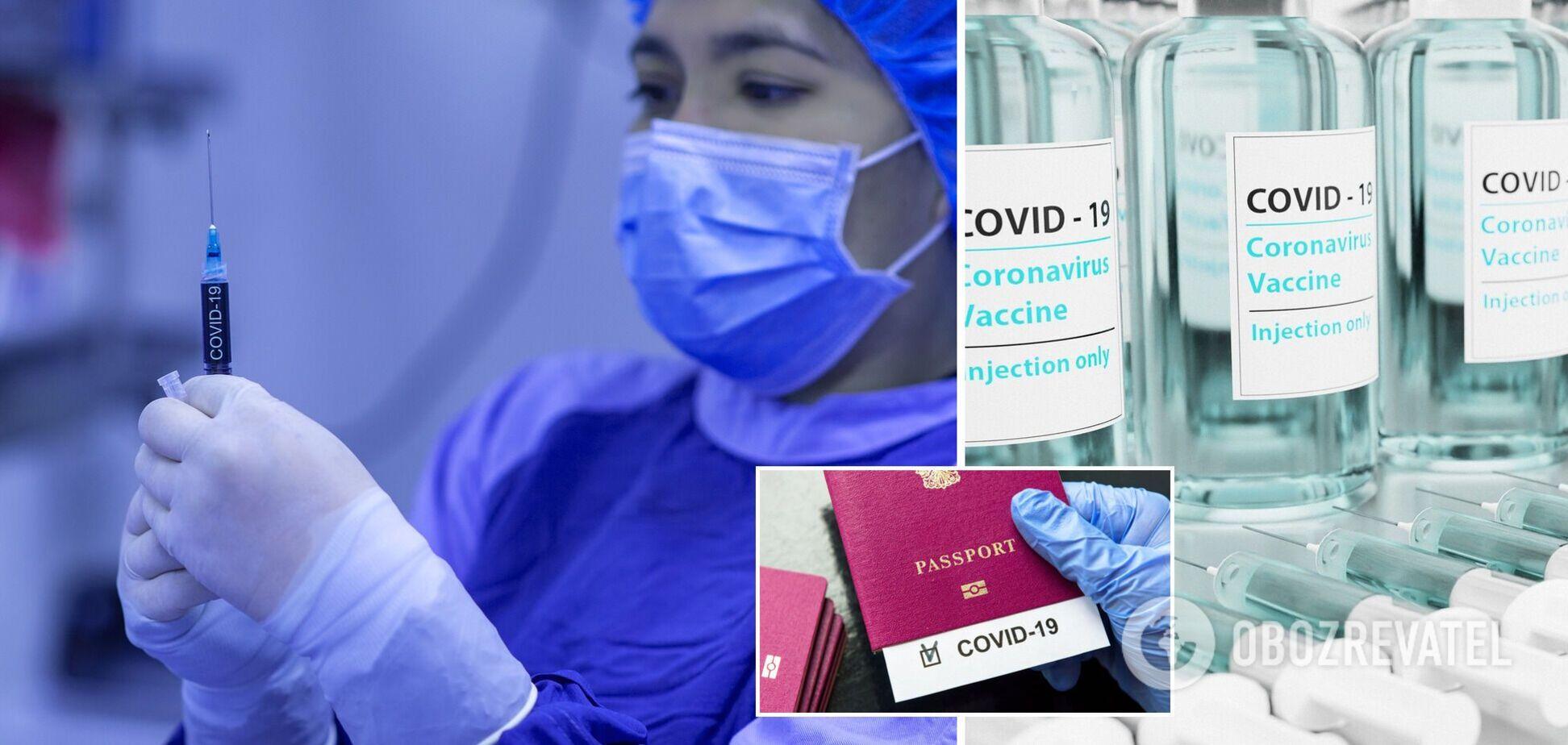 международный сертификат о вакцинации против COVID-19