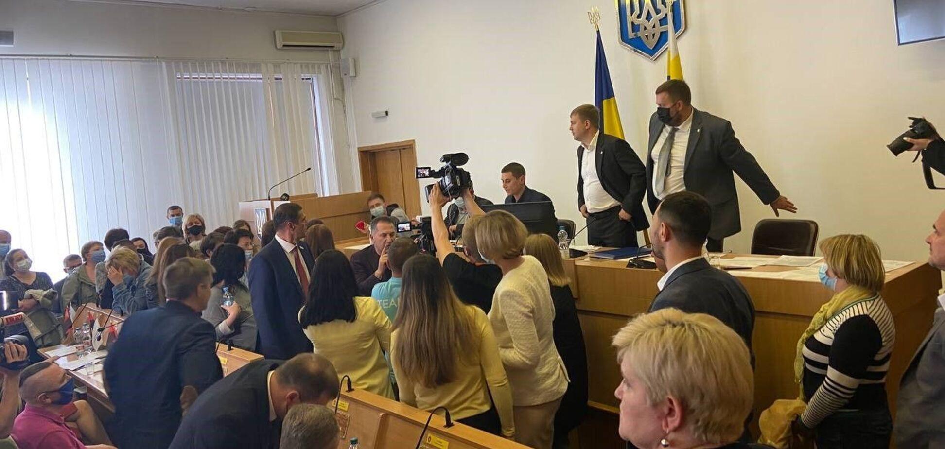 Депутаты Ровенского областного совета не поддержали финансирования департамента гражданской защиты