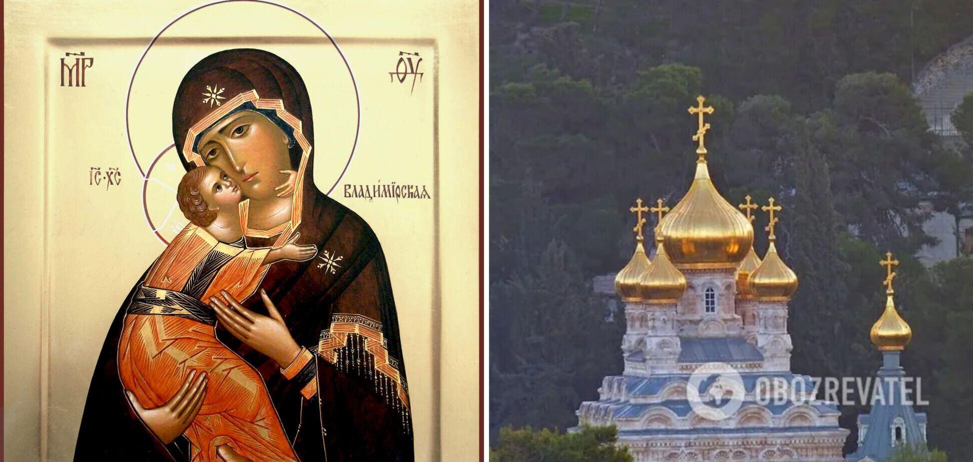Чудотворна ікона також відома як Вишгородська