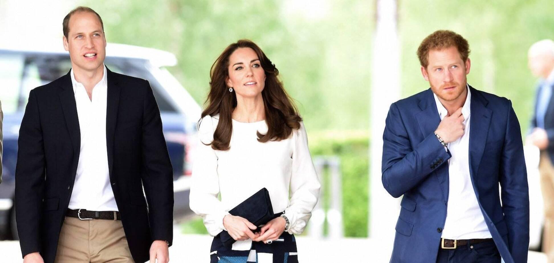 Принц Вільям, Кейт Міддлтон і принц Гаррі
