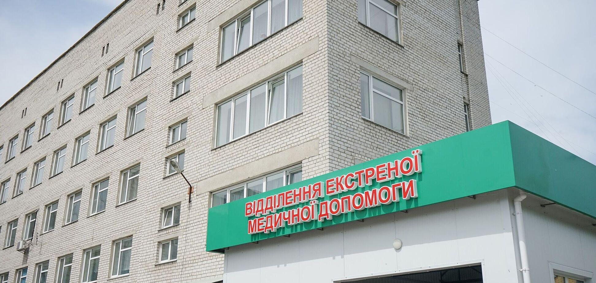У Новоград-Волинському відкрили нове приймальне відділення лікарні