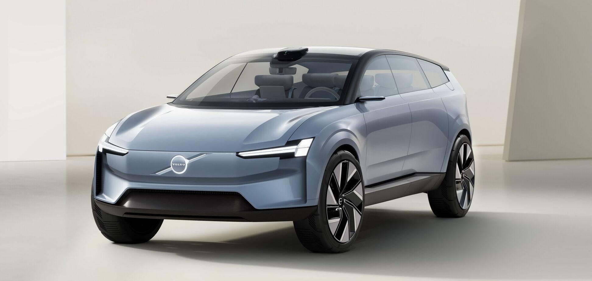 Volvo представил электрический кроссовер Concept Recharge