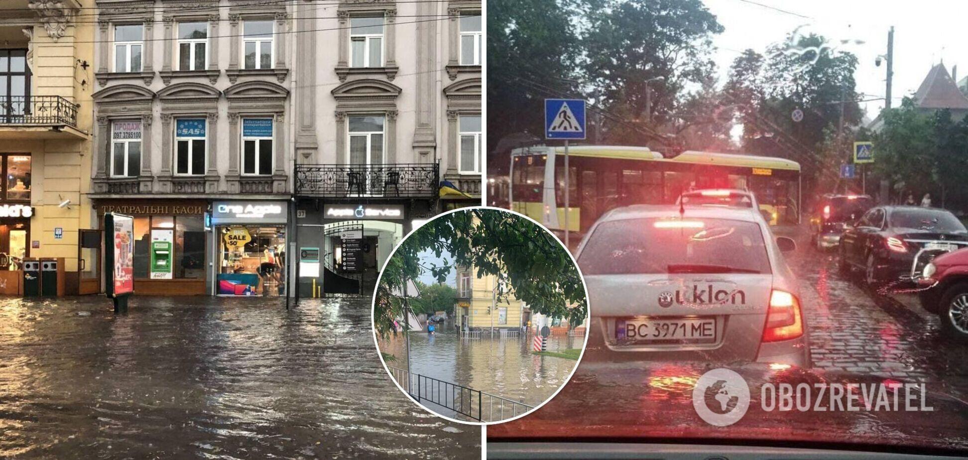 Негода показала львів'янам другу серію апокаліпсису. Фото та відео наслідків потужної бурі