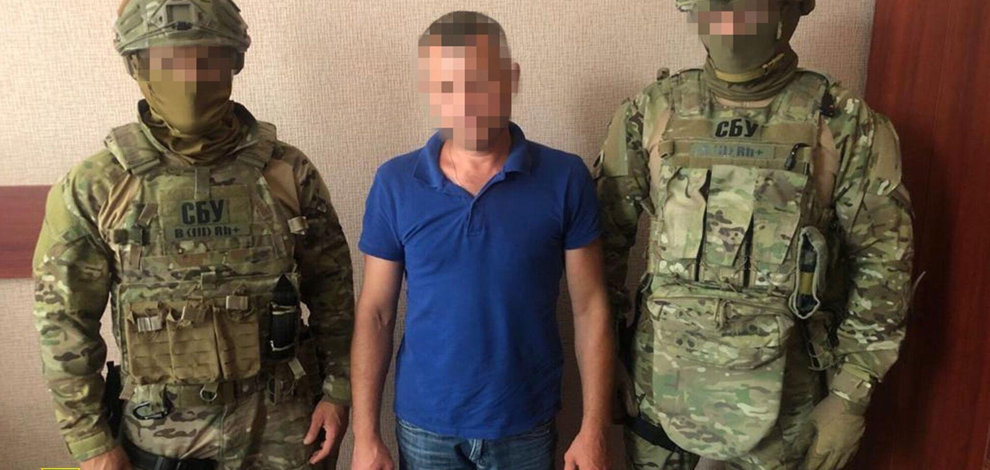 У Києві затримали бойовика 'ЛНР', який захотів отримати статус переселенця. Фото
