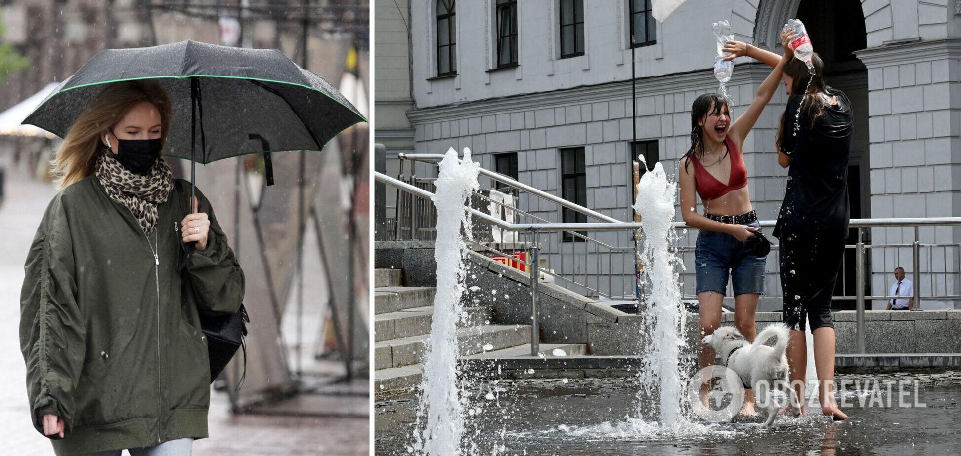 Випаровування після дощів створять у повітрі 'тропічний ефект'