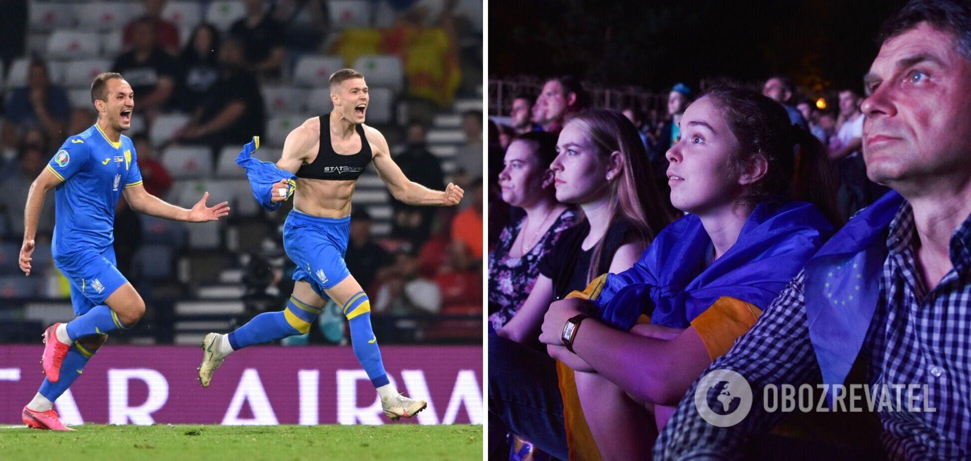 Уболівальникам доведеться дивитися матч в Україні