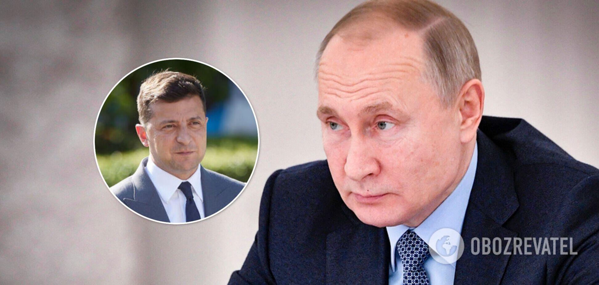 Путин заявил о передаче Украины под полное внешнее управление