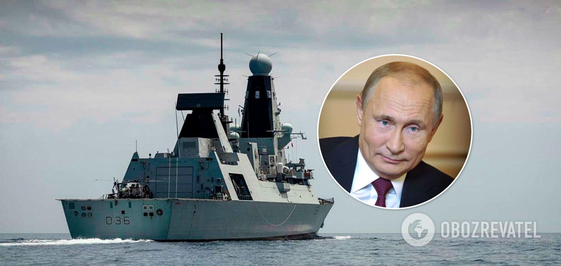 Путин: в провокации с Defender участвовали не только британцы, но и американцы