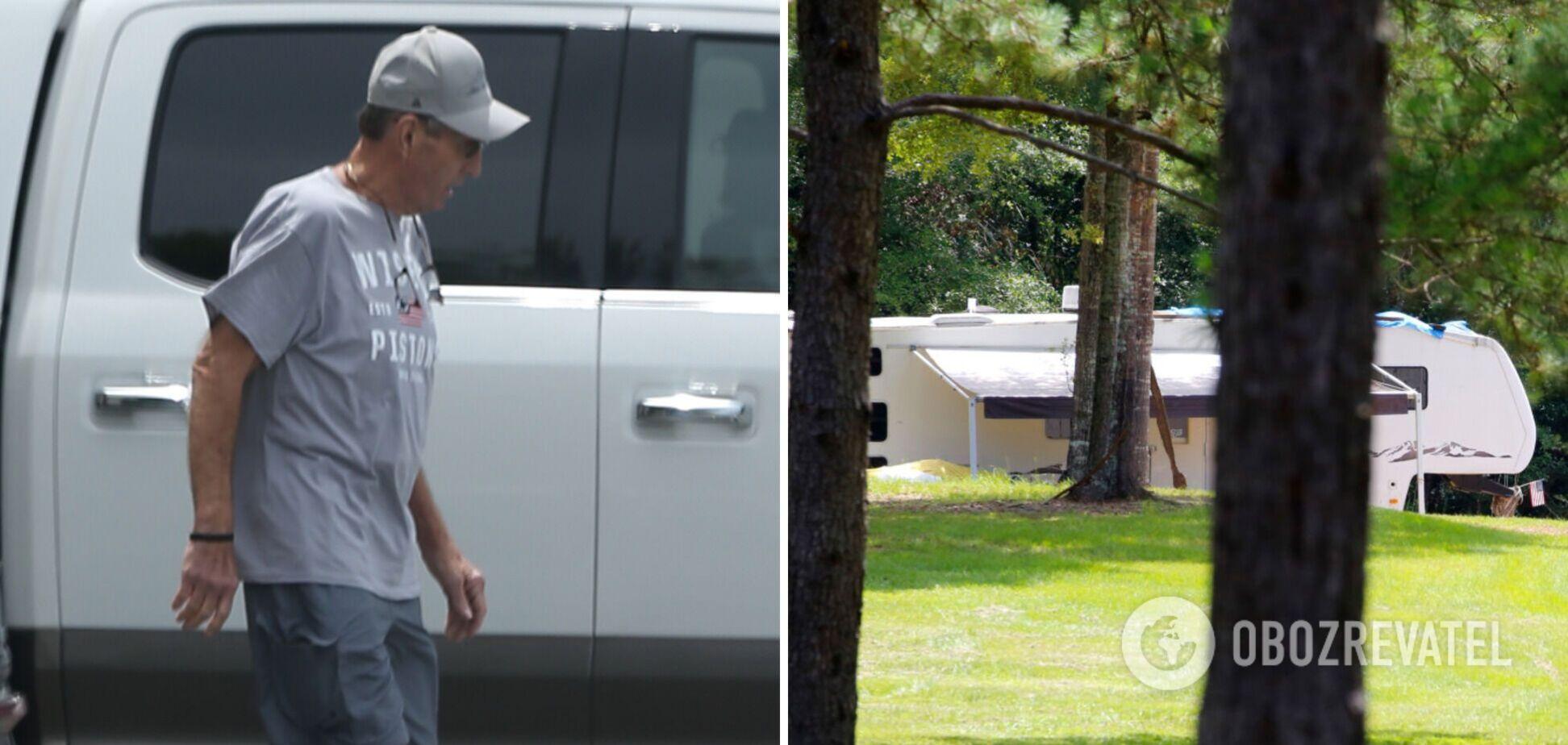 Обвиненный в насилии отец Бритни Спирс живет в скромном доме на колесах. Фото