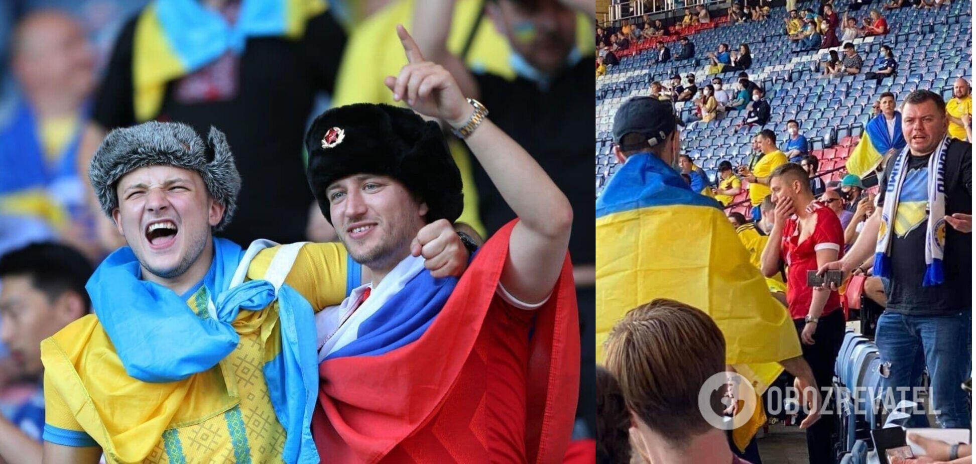 Українським фанатам не сподобався образ росіянина