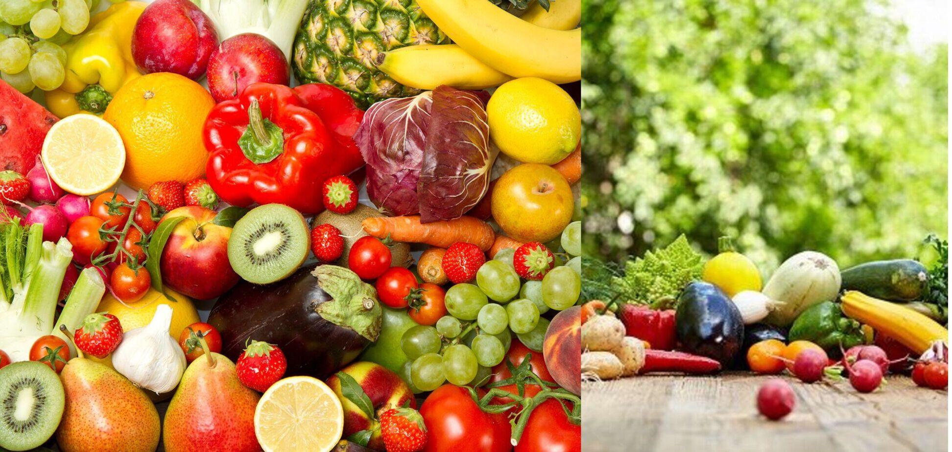 Вода не только в бутылке: фрукты и овощи незаменимые летом