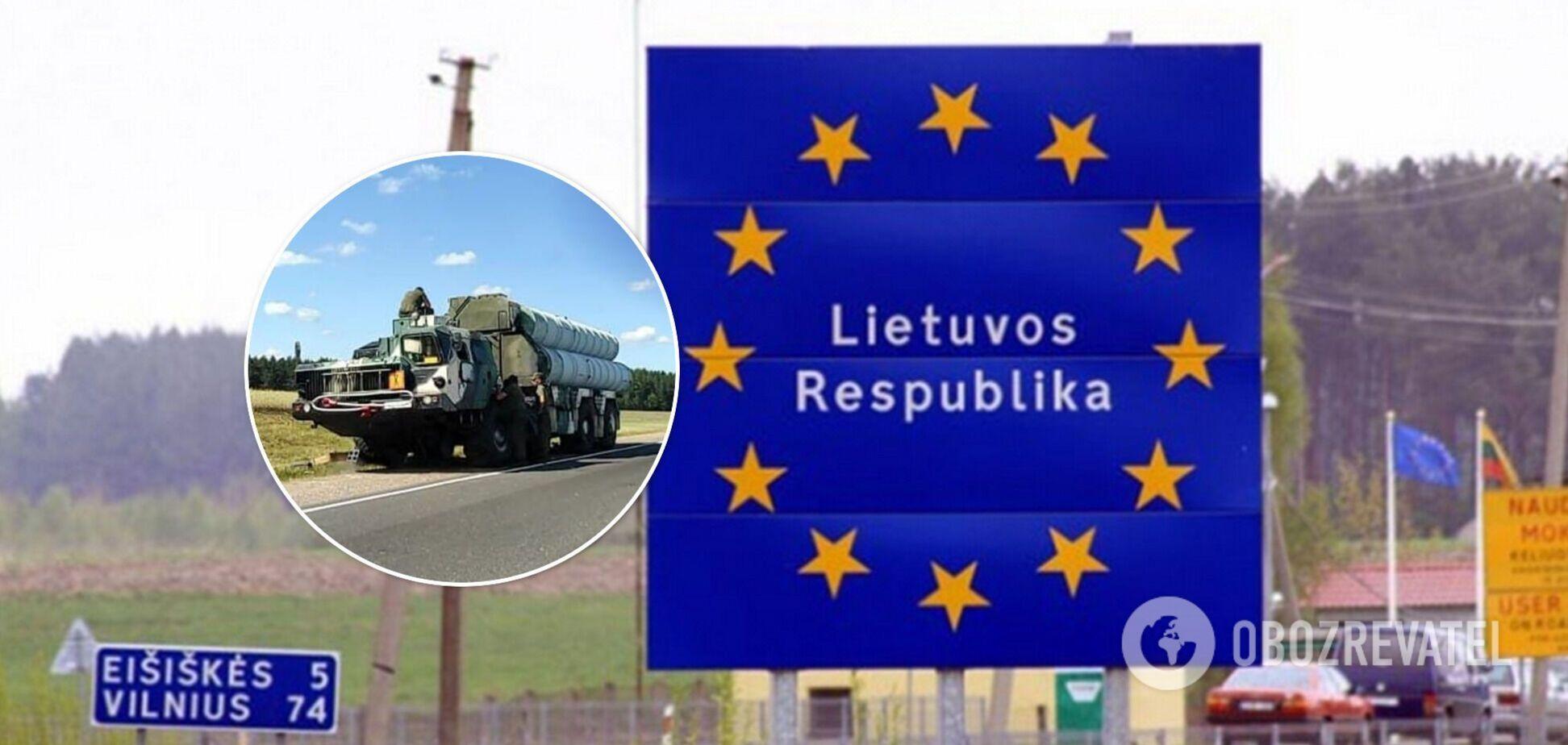 Очевидцы зафиксировали перемещение ЗРК в Беларуси вблизи границ с Польшей и Литвой. Фото и видео