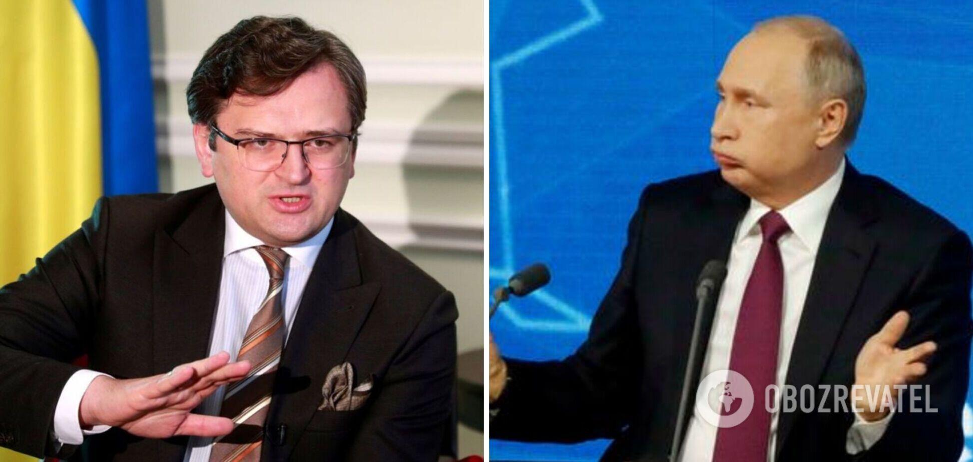 Кулеба відповів на слова Путіна про 'братній' народ: Росія вбила тисячі людей