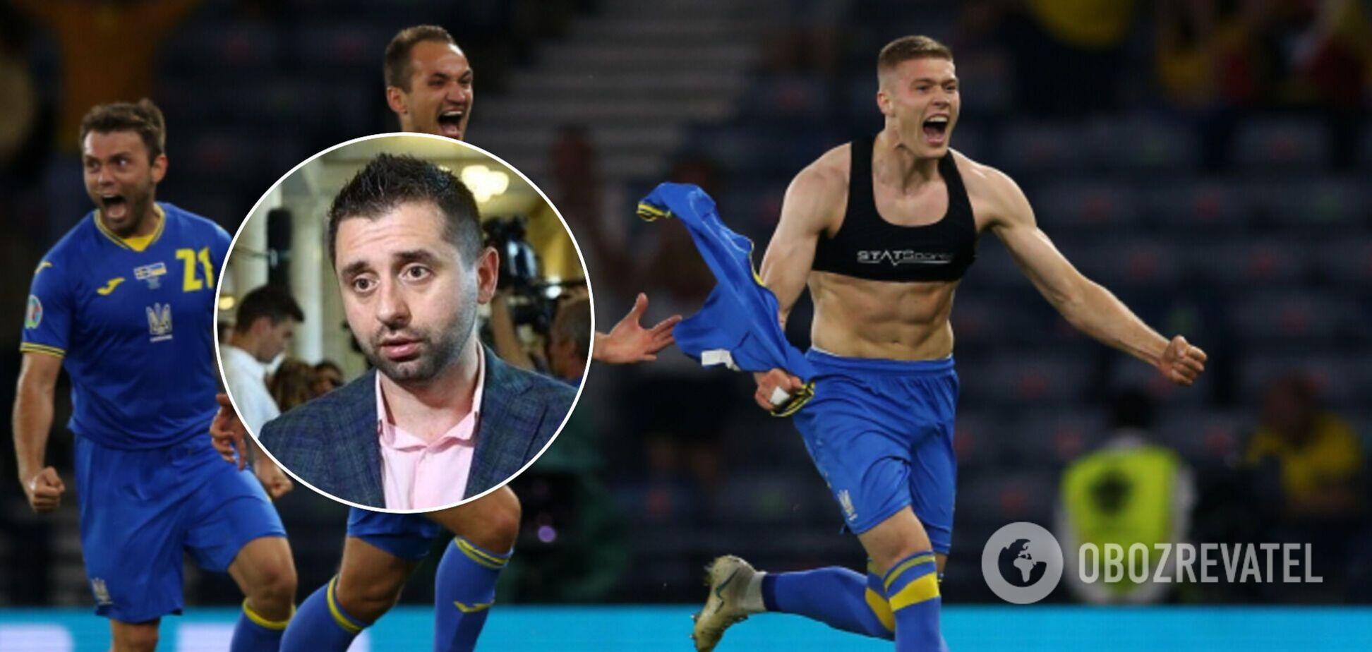 У Раді оплесками привітали збірну України, а Арахамія розповів, як вгадав рахунок. Відео
