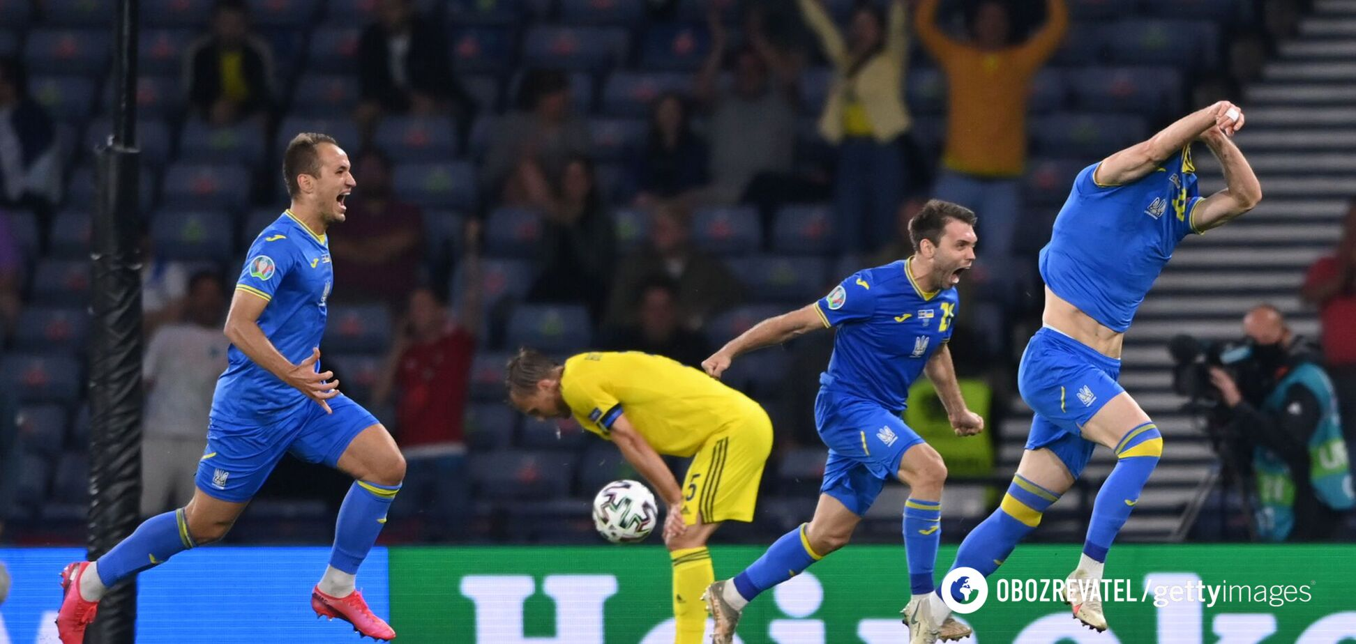 Швеція - Україна - Євро-2020: 1/8 фіналу