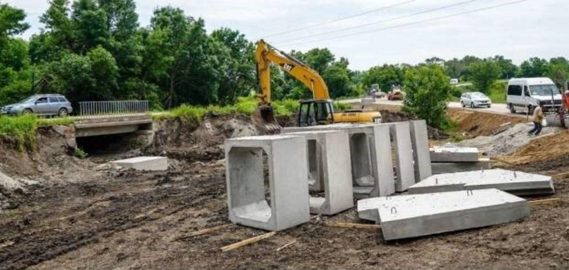 На Луганщині у липні завершать капітальний ремонт трьох мостів на трасі Р-66