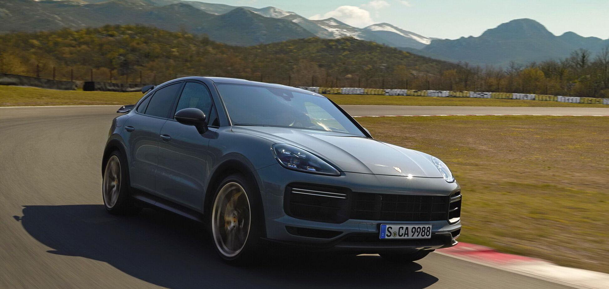 Porsche презентував найпотужнішу версію Cayenne Turbo GT. Відео