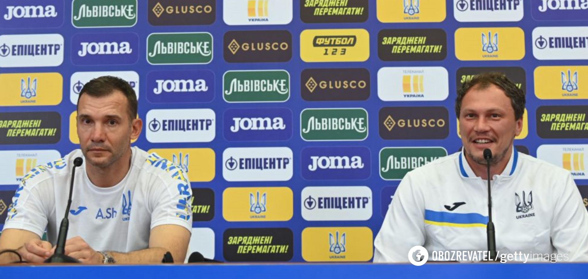 Андрій Шевченко та Андрій Пятов