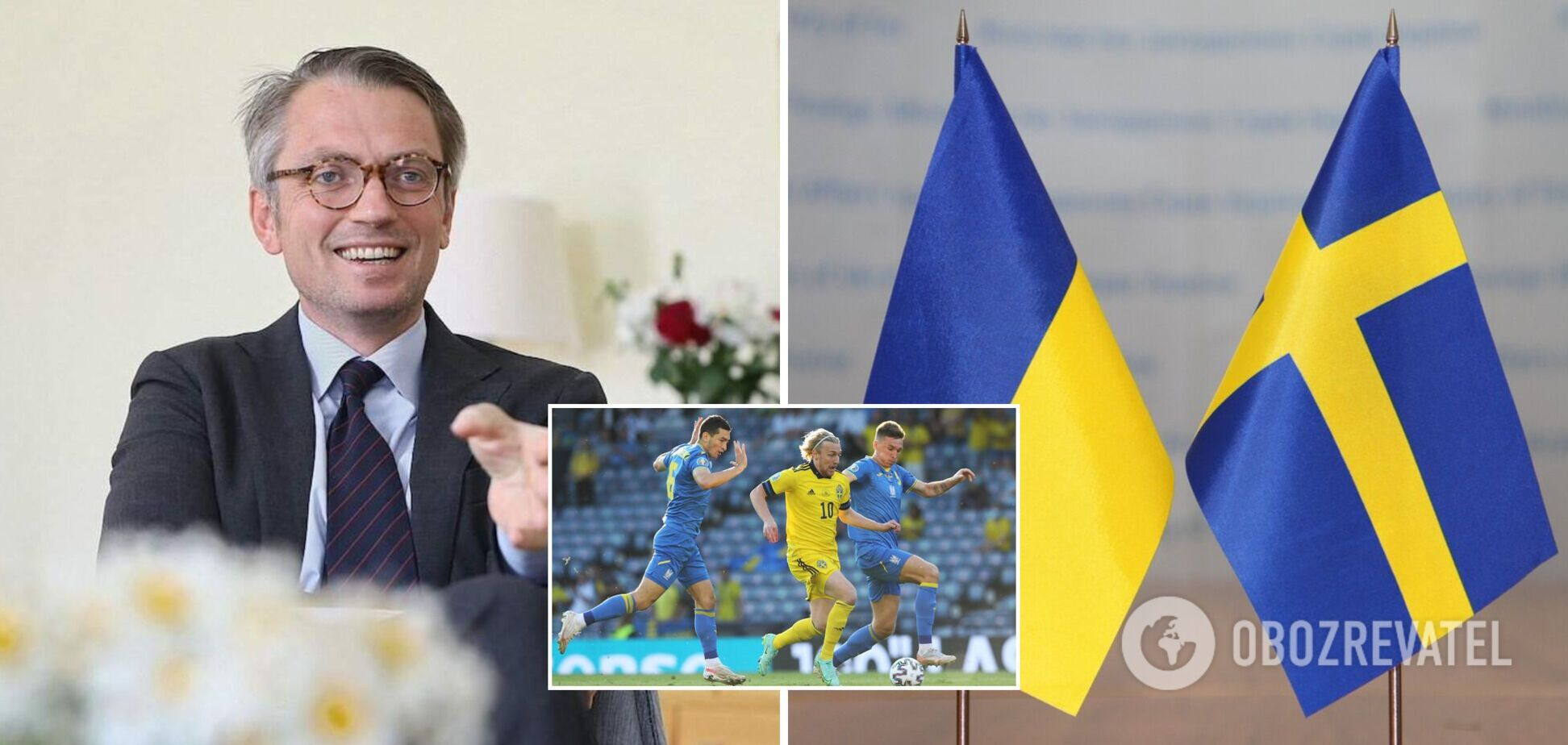 Посол Швеції привітав Україну