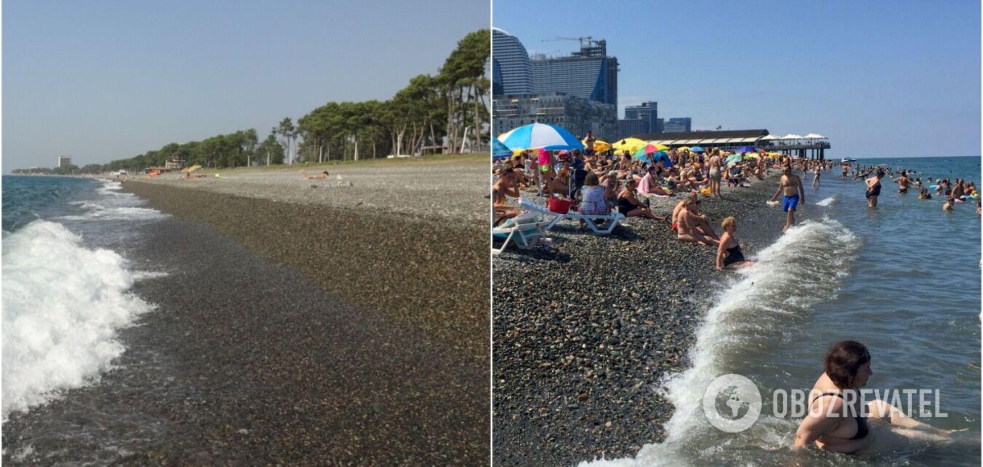 Самые худшие пляжи Грузии, которых следует избегать во время отдыха. Фото