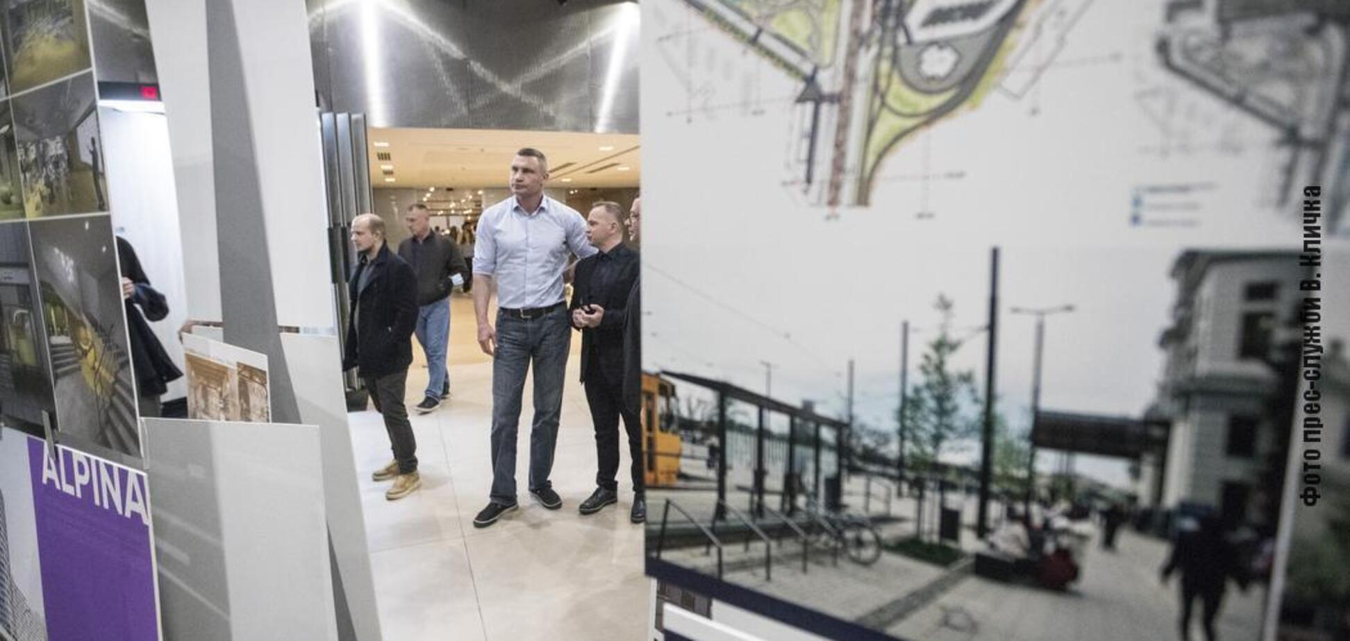 Кличко привітав фіналістів всеукраїнських конкурсів дизайну та архітектури. Фото