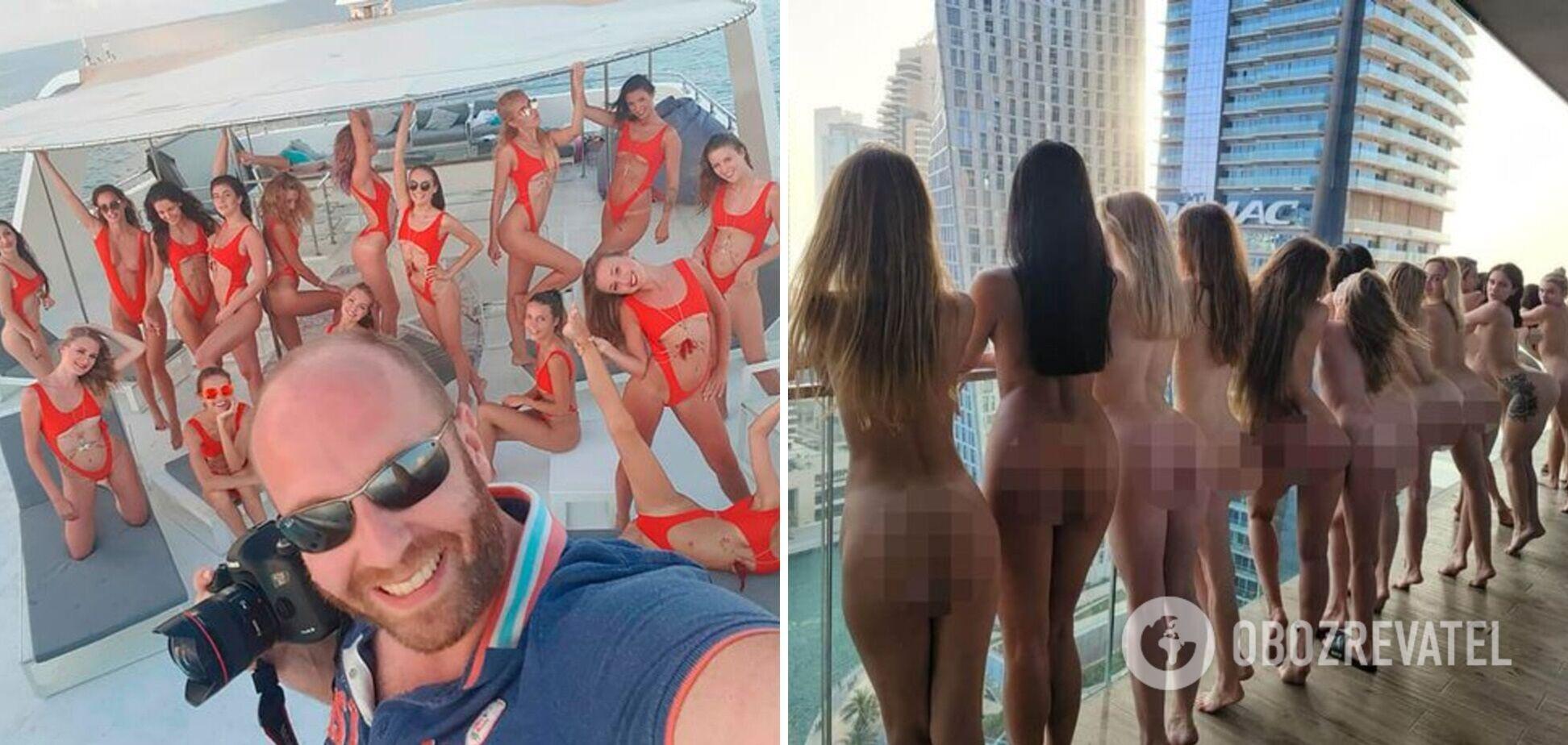 Організатор скандальної фотосесії в Дубаї виставив на аукціон ролик з тієї самої зйомки