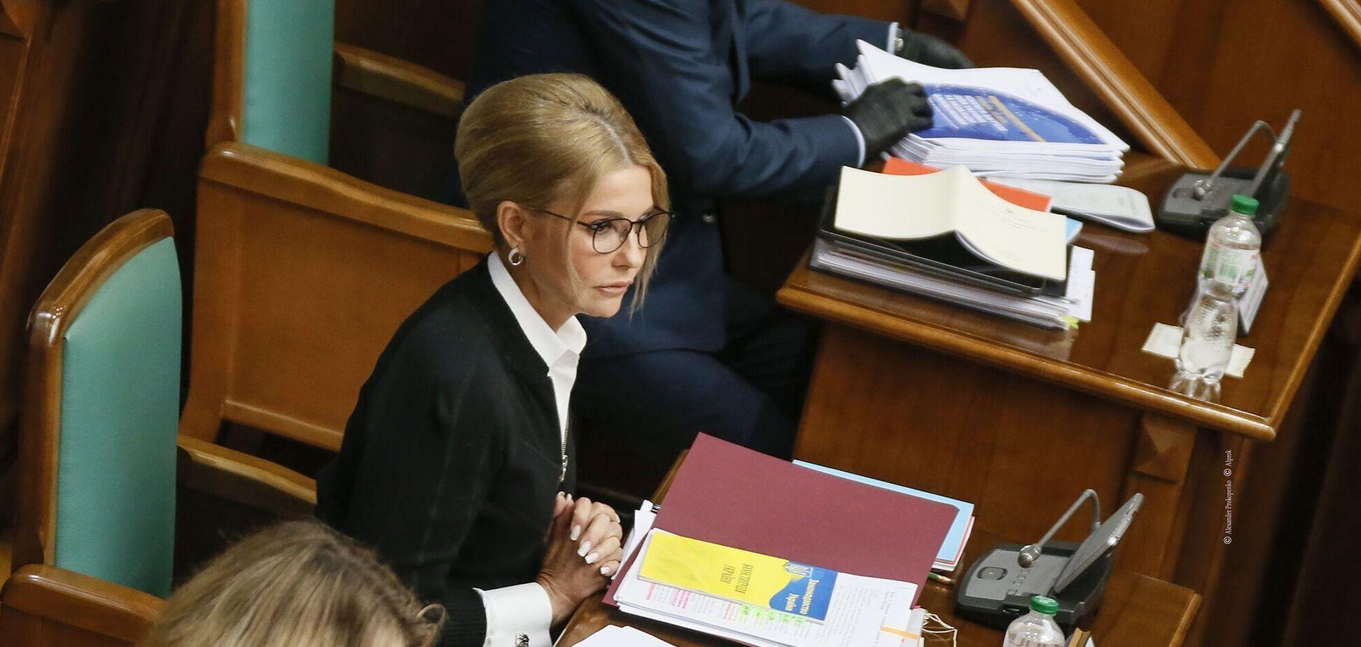 Тимошенко розгорнула активну боротьбу за українську землю