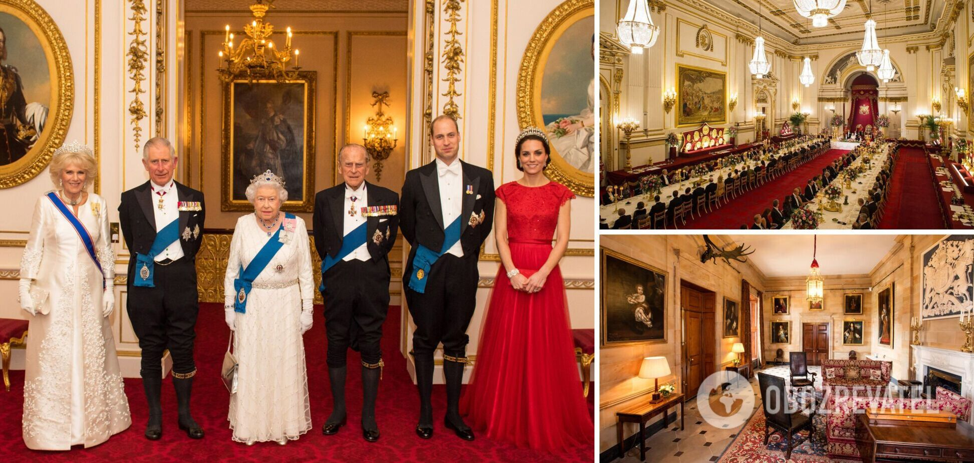 Де живуть Єлизавета II, Міддлтон, Маркл та інші: фото будинків королівської сім'ї
