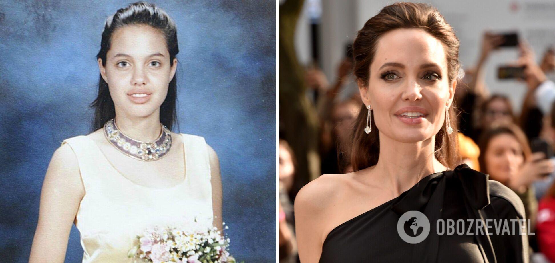 Джоли – 46: как менялась звезда Голливуда с детства