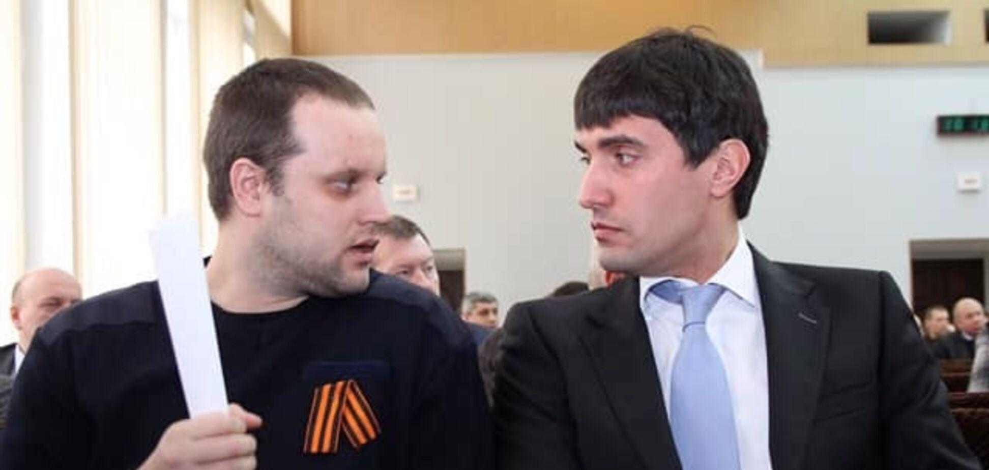 Экс-регионал Николай Левченко и террорист 'ДНР' Павел Губарев