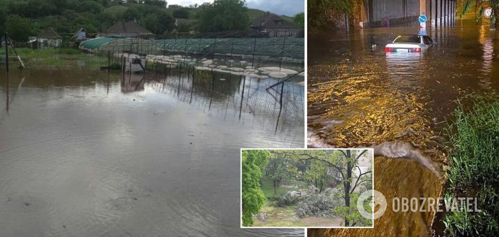 Мариуполь ушел под воду из-за мощных ливней: затопило дома и улицы. Фото и видео