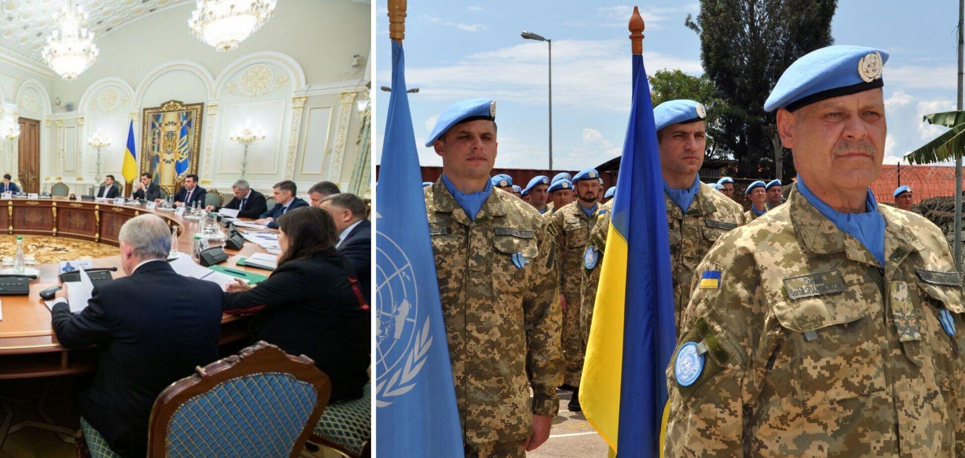 Украина увеличит контингент в Конго: в СНБО назвали цель