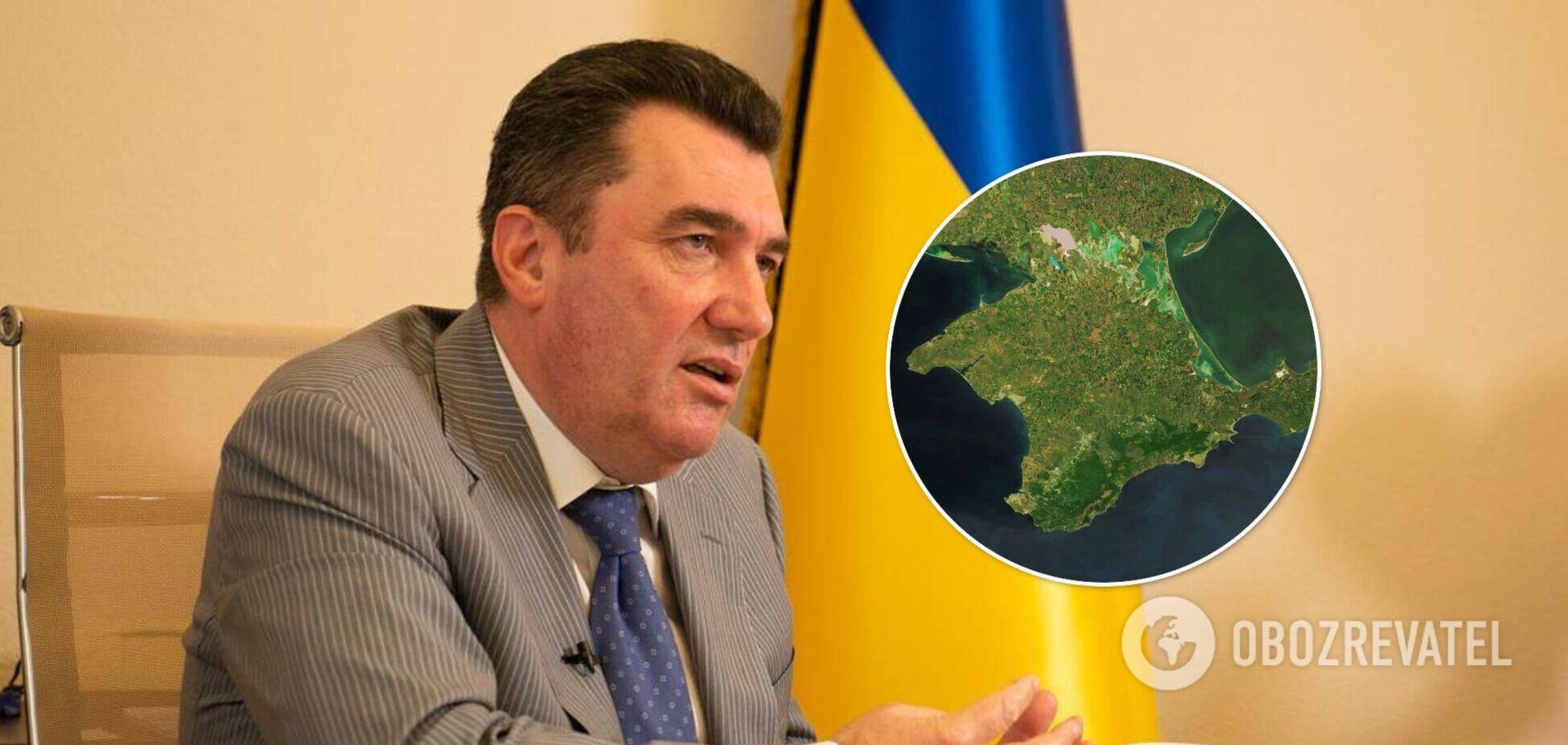 Данилов назвал две страны, ответственные за оккупацию Крыма