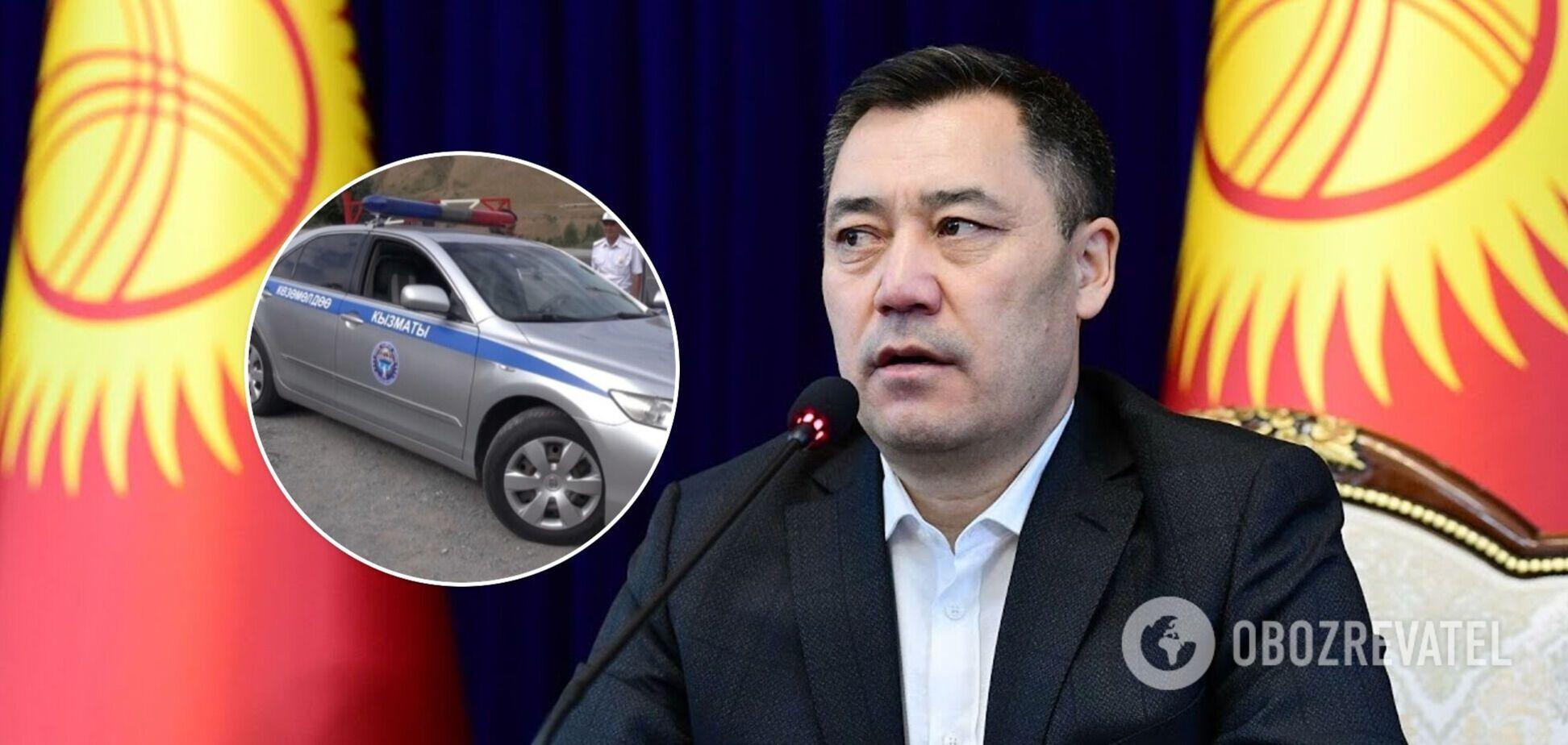 Кортеж президента Киргизстану потрапив у смертельну ДТП