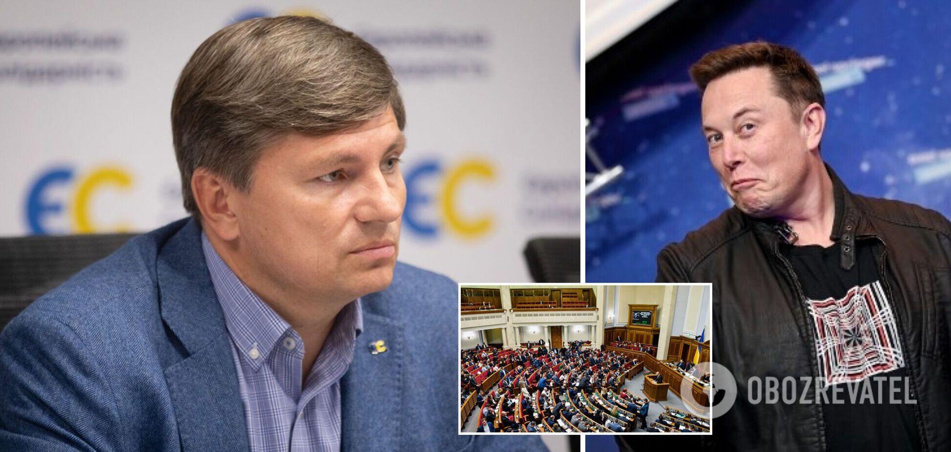 Герасимов – про законопроєкт щодо олігархів: Ілон Маск підпадає під опис