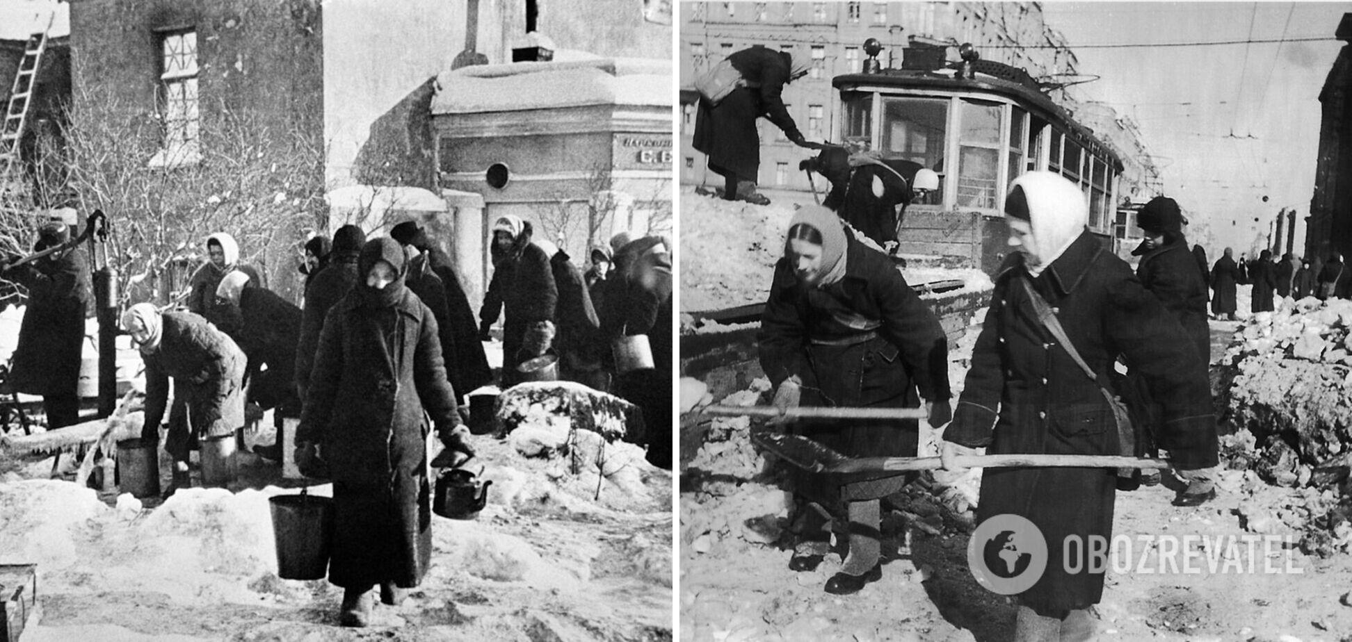 Блокади Ленінграду не було. Був голодомор