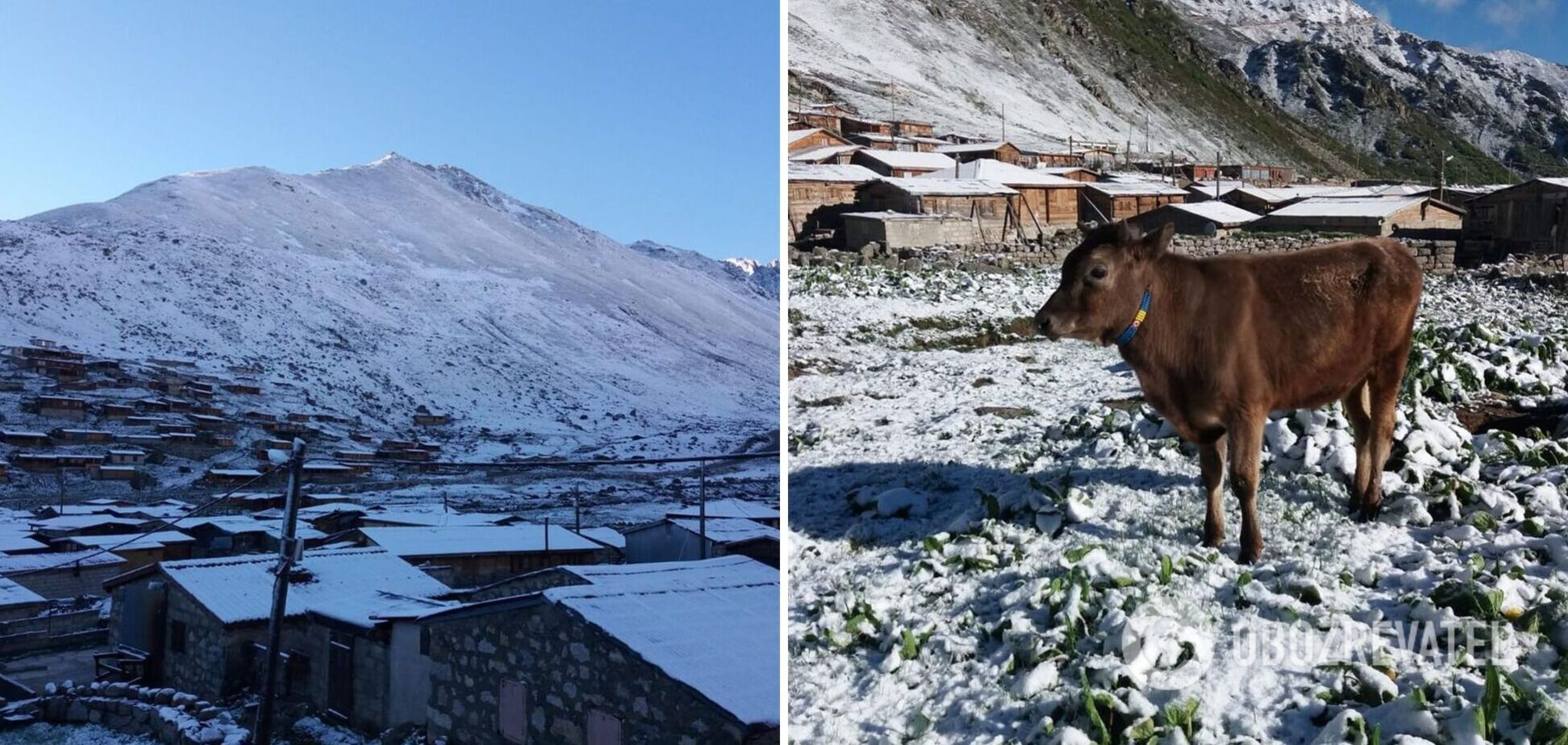 В Турции в июне выпал снег
