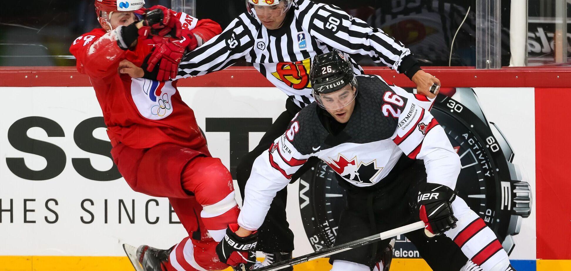 Коментатор Губернієв про виліт Росії з ЧС із хокею: рівень відповідає 153-й збірній Канади