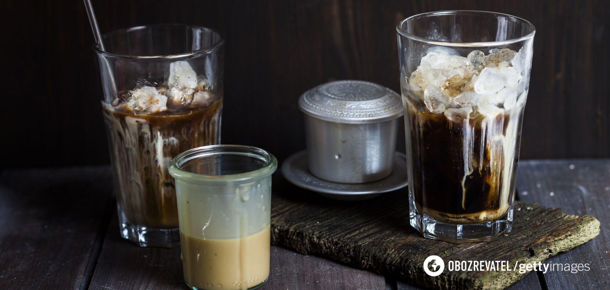 Як смачно приготувати холодну каву