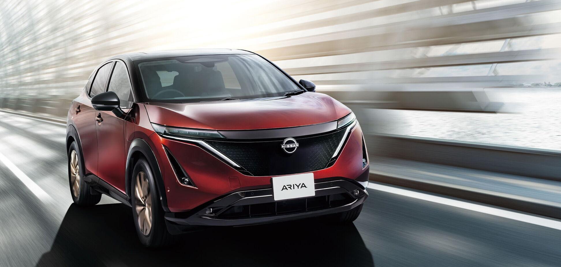 Nissan анонсував ціну на електричний кросовер Ariya
