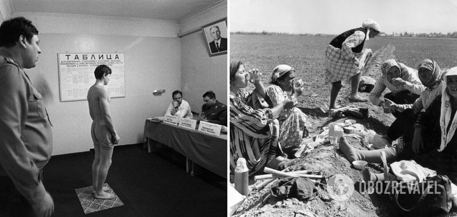 Плохое здоровье людей в СССР было обусловлено множеством факторов