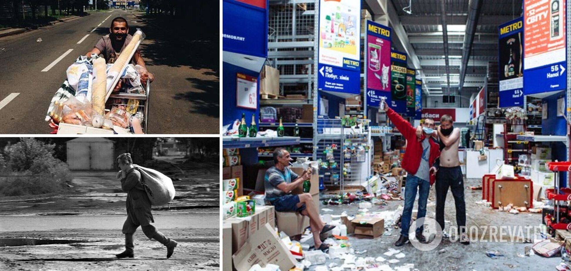 'Процветание' ОРДЛО: разрушено все. Теперь, как в России