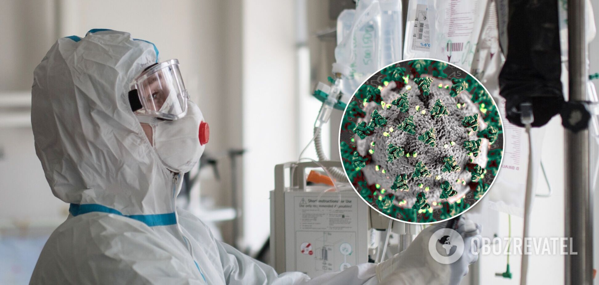 В Україні госпіталізували понад тисячу хворих на коронавірус: як заповнено місця в лікарнях