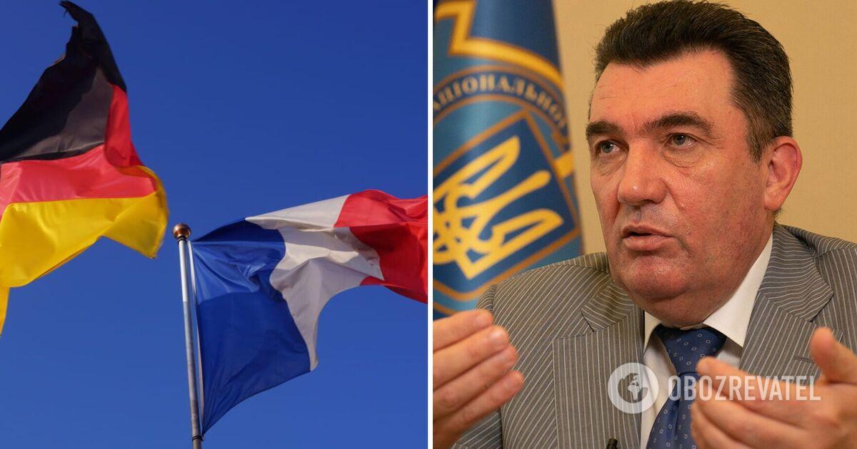 Данилов назвал причину бездействия Франции и Германии по вопросу Донба