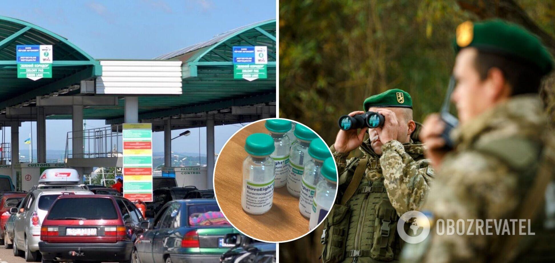 В Польшу из Украины пытались вывезти лекарств на 10 млн грн: подробности и фото