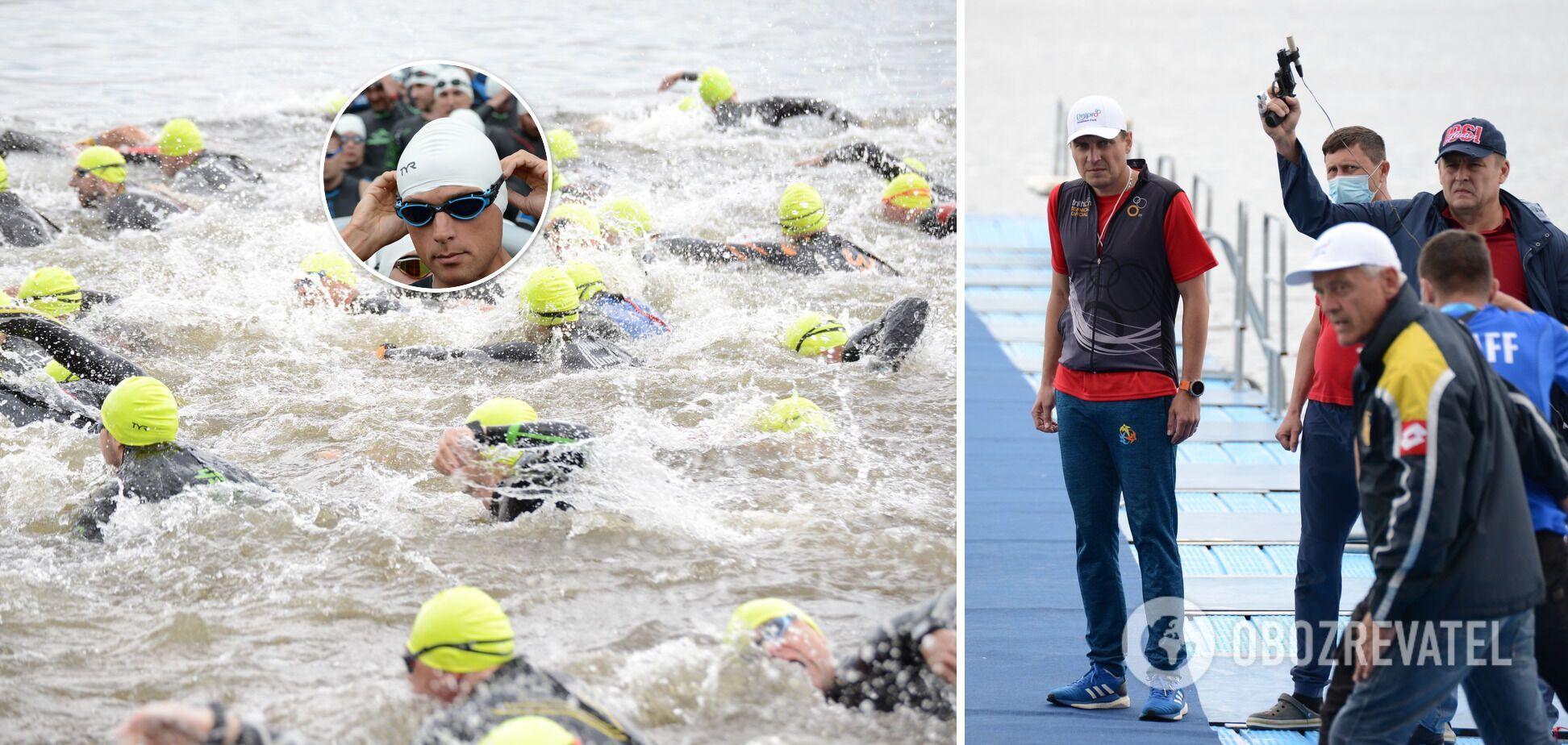 В 'Dnipro triathlon fest' приняло участие рекордное количество спортсменов-любителей, самому старшему – более 60 лет