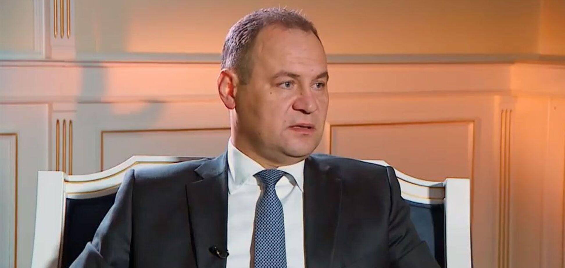 Головченко поскаржився, що Україна не хоче відновити партнерство з Білоруссю
