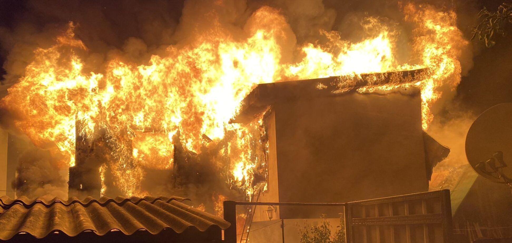 На Київщині пожежа в будинку забрала життя дитини. Фото