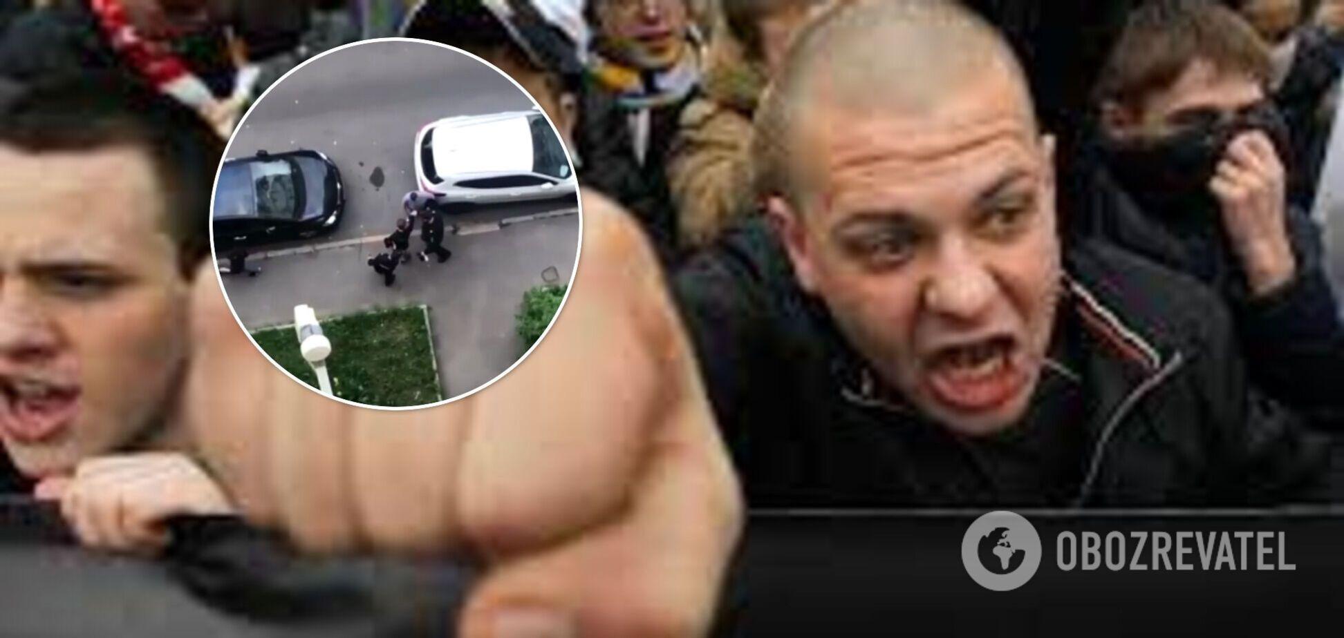 В Москве произошла массовая драка со стрельбой между скинхедами и антифа. Видео