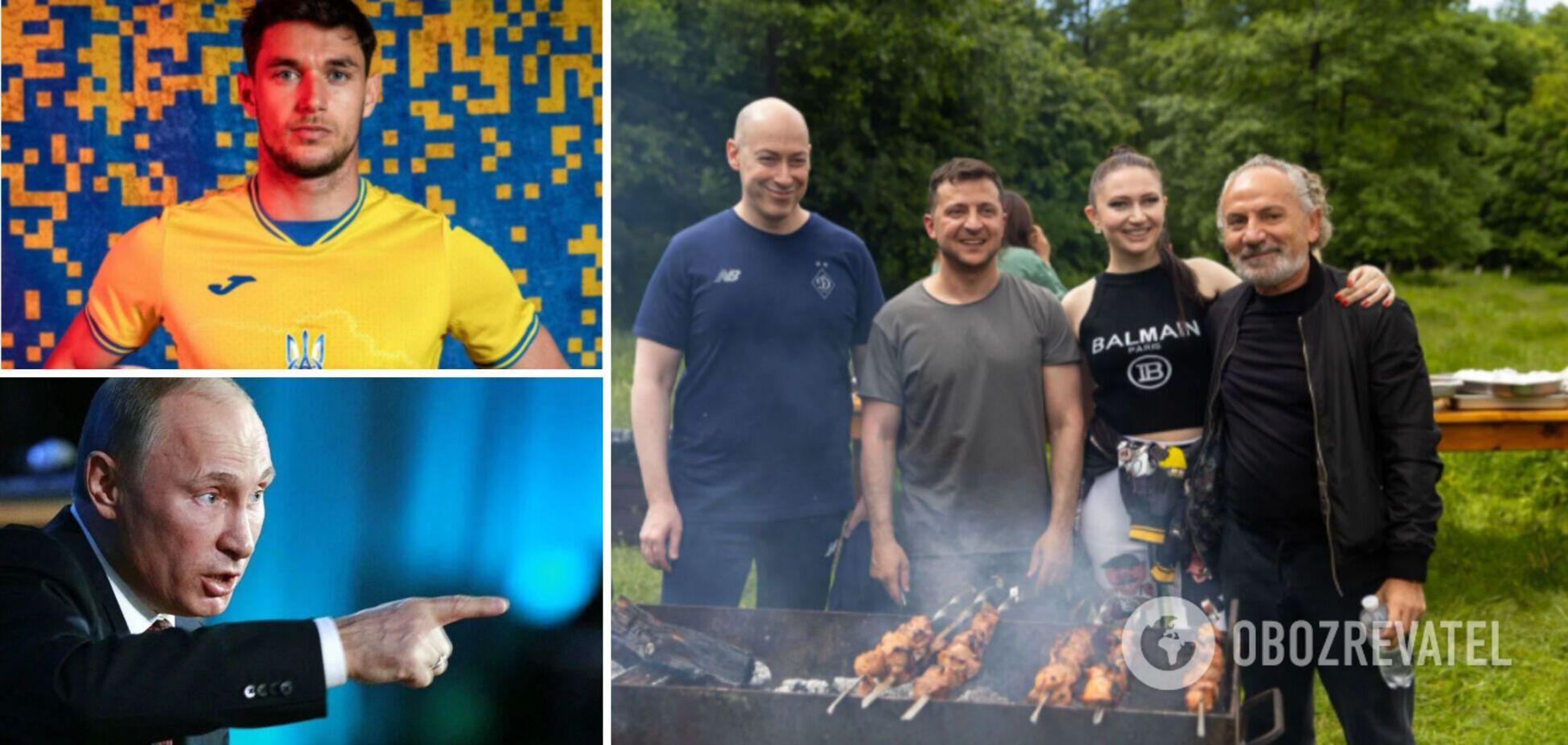 Новости Украины: Зеленский сходил с журналистами на пикник, а 'особая' форма нашей сборной вызвала скандал в РФ